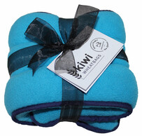 Turquoise Polar Fleece Wheat Bag