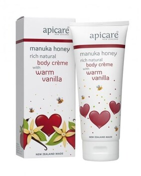 Manuka Honey Rich Natural Body Crème With Warm Vanilla