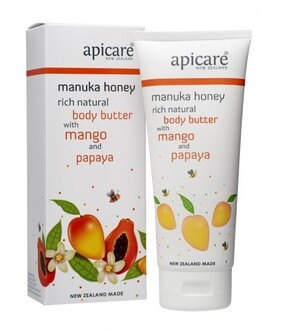 Manuka Honey Rich Natural Body Butter with Mango and Papaya