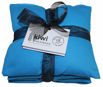 Turquoise Jumbo Cotton Wheat Bag
