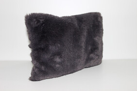 Charcoal Furry Wheat Bag