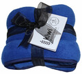 Royal Blue Polar Fleece Wheat Bag