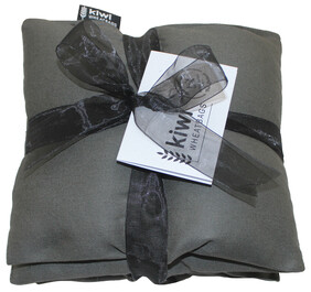 Battleship Grey Jumbo Cotton Wheat Bag