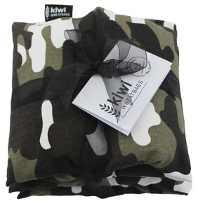Camo Jumbo Cotton Wheat Bag